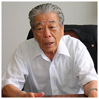 株式会社丸綜 礒田克典社長